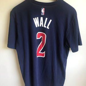 premium selection 70baa a26f7 Nike drifit John Wall Washington Wizards t-shirt L